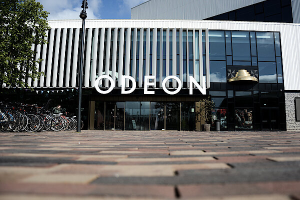 Main entrance of Odeon